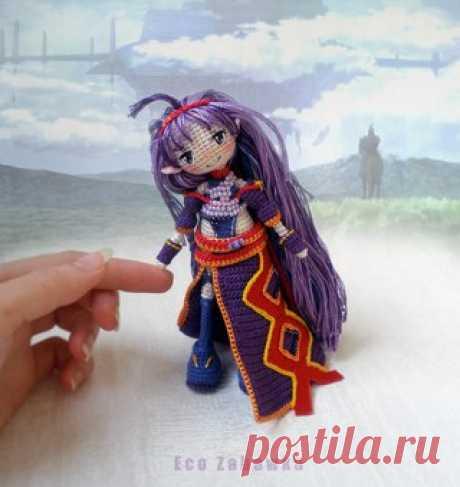 ECO ZABAWKA™ • куклы амигуруми • схемы • мк