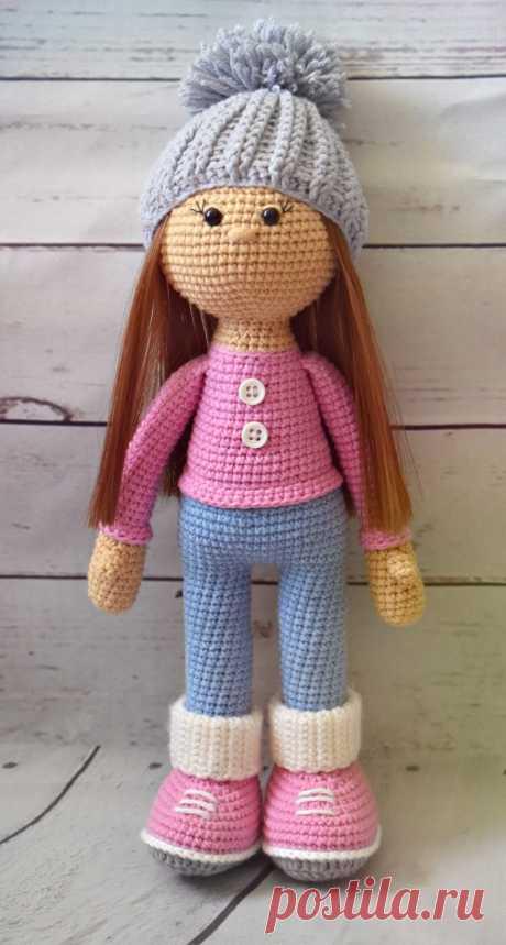 Кукла Стеша крючком: схема куклы амигуруми