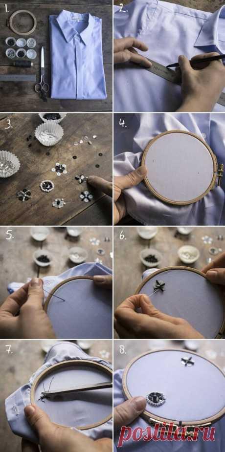 Вышивка бисером на одежде: и красиво, и хороший способ релаксации! | Создавай сам | Яндекс Дзен