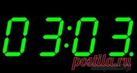 Что означают одинаковые числа на часах?