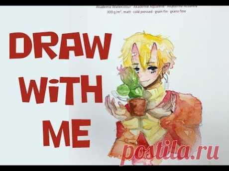 DRAW WITH ME devil boy