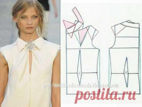 Моделирование запоминающихся блузок — Сделай сам, идеи для творчества - DIY Ideas