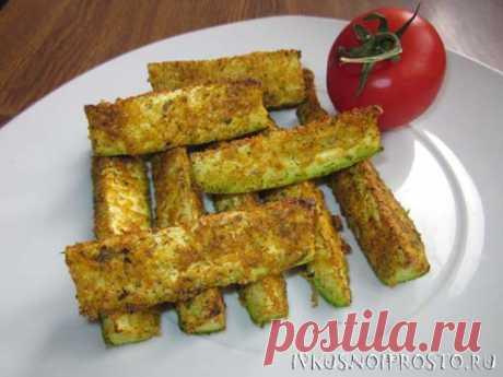 Ломтики кабачков в духовке - пошаговый рецепт с фото   И вкусно и просто