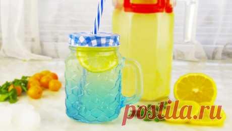 Лимонад за 30 минут. Готовиться быстро и просто, а выпивается еще быстрее!