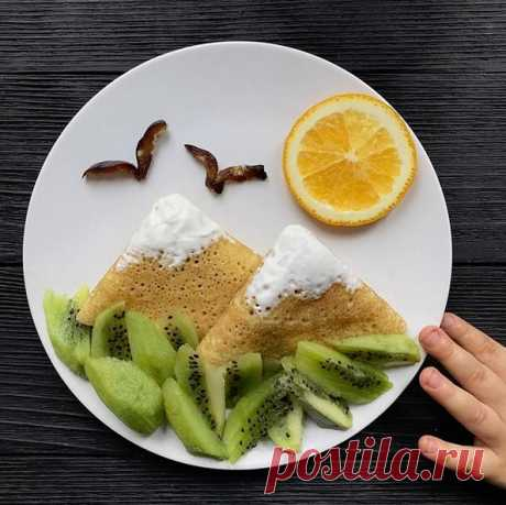 Рецепты для детей. интересные идеи оформления детских блюд. — Поделки с детьми