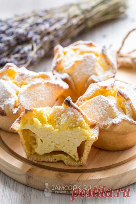 Итальянские пирожные «Соффиони» — рецепт с фото пошагово