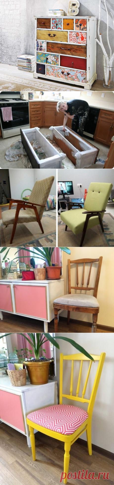 Переделка старой мебели в модную своими руками – сам себе дизайнер