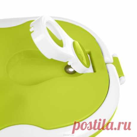 """Термо ланч-бокс двойной Bradex """"Bento"""", цвет: зеленый, 1,5 л — купить в интернет-магазине OZON.ru с быстрой доставкой"""