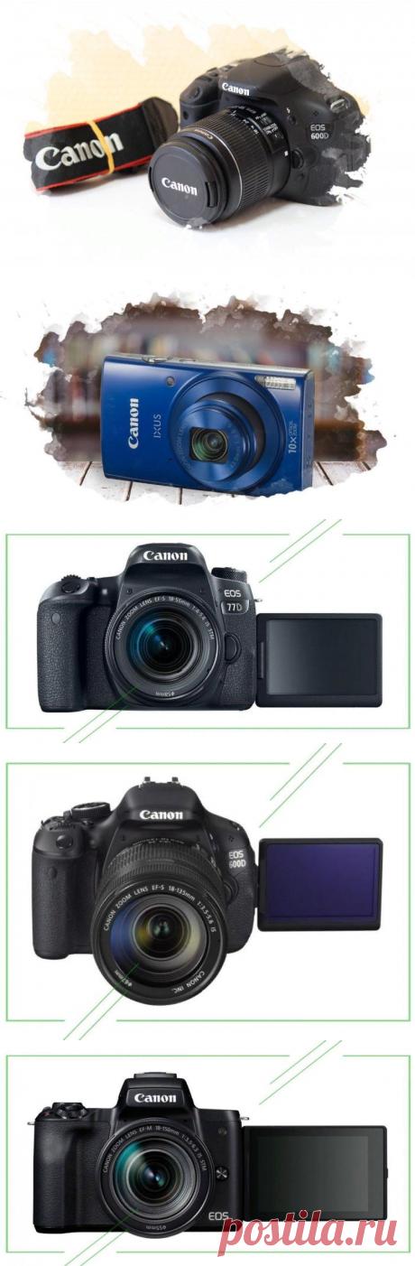 ТОП-7 лучших фотоаппаратов Canon