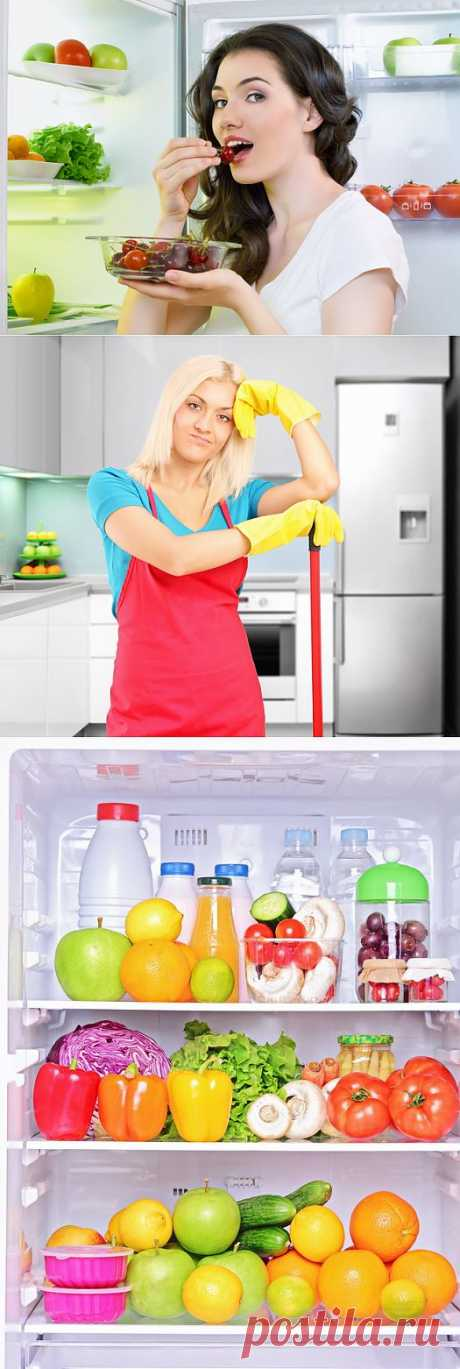 Как быстро избавиться от запаха в холодильнике | Полезные советы