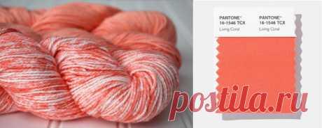 Цвет Pantone 2019 в вязании | Мамины Ручки Вязание и не только | Яндекс Дзен