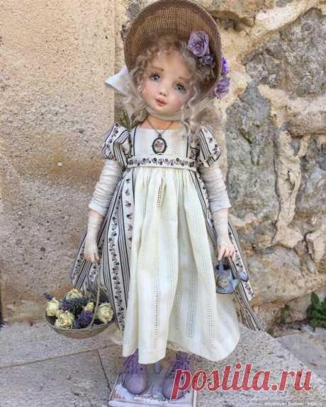 """Текстильная кукла - душа, завернутая в ткань. Виолетта / Текстильная кукла своими руками из ткани / Бэйбики. Куклы фото. Одежда для кукол На моем канале """"Мир кукол"""" вы увидите много интересного, нового и полезного для кукол! ========================================= ============================= =================================== ================================== Вы можете приобрести все необходимые материалы для изготовления текстильной куклы здесь: ali.pub/aqw9h =========="""