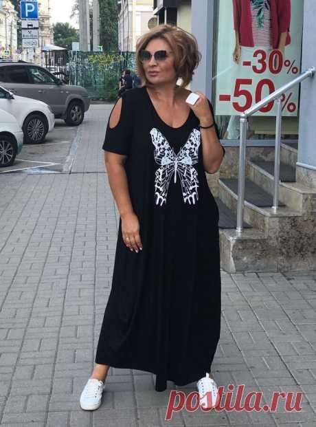 Свободный Бохо для лета: стильные длинные платья для зрелых женщин 50+ | Будь в стиле! | Яндекс Дзен