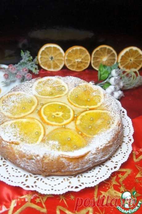 Апельсиновый пирог-перевертыш – кулинарный рецепт