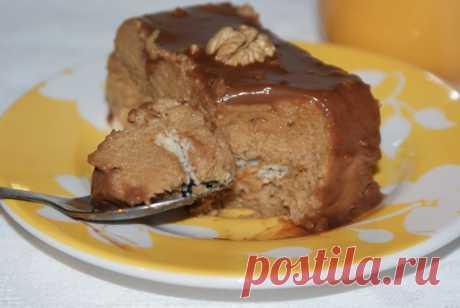 Пудинг из манки — Кулинарная книга - рецепты с фото