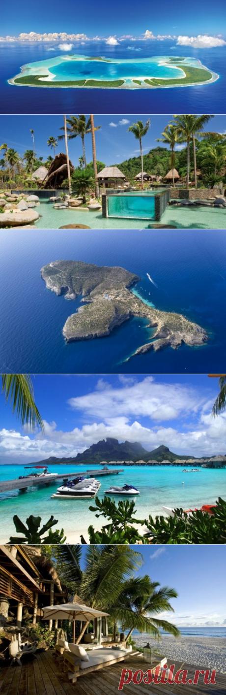 Las islas lujosas privadas