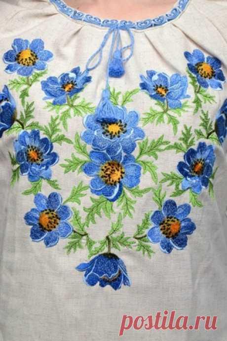 Вышивка на одежде своими руками: схемы, расшивка, выбор ниток и советы вышивальщиц