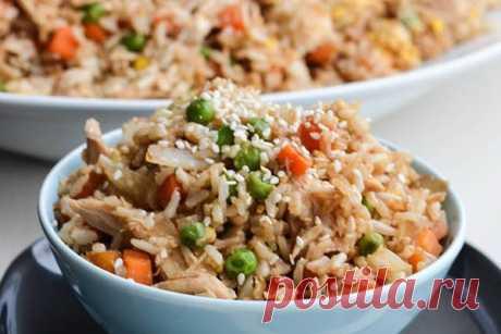 Рис с курицей — ХОЗЯЮШКА