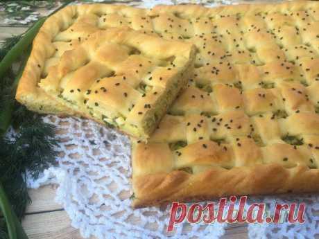 Пирог с капустой и яйцом в духовке, пошаговый рецепт с фото