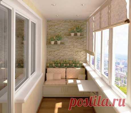 Потрясающие идеи для создания стильного и уютного балкона