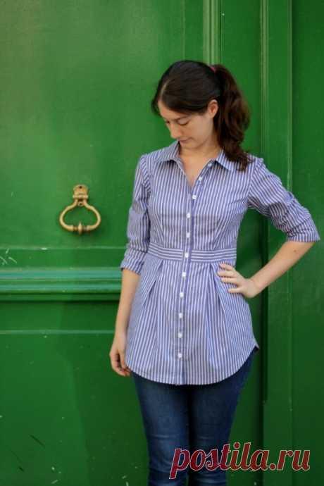 Рубашка Bruyère от Mamie | Проект | Шитье / Рубашки, майки и топы | Kollabora