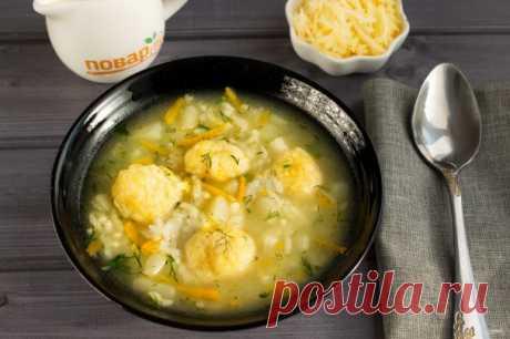 Венгерский суп с сырными клецками - пошаговый рецепт с фото на Повар.ру