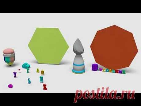 ▶ Развивающие Мультики - Геометрия для Самых Маленьких - YouTube