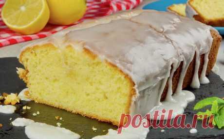 Лимонный пирог (кекс) с лимонной глазурью — informed news 24