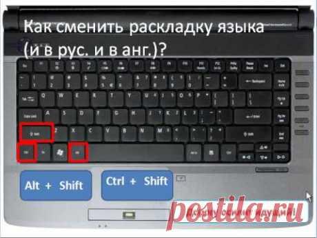 Как работать на клавиатуре компьютера?