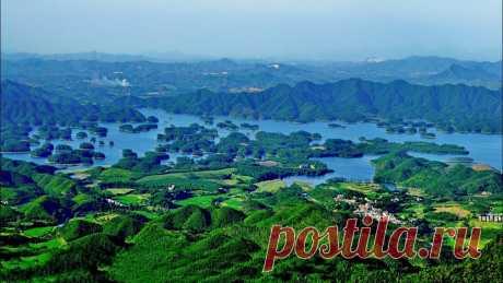 Китай:Цяньдаоху - Озеро тысячи островов!