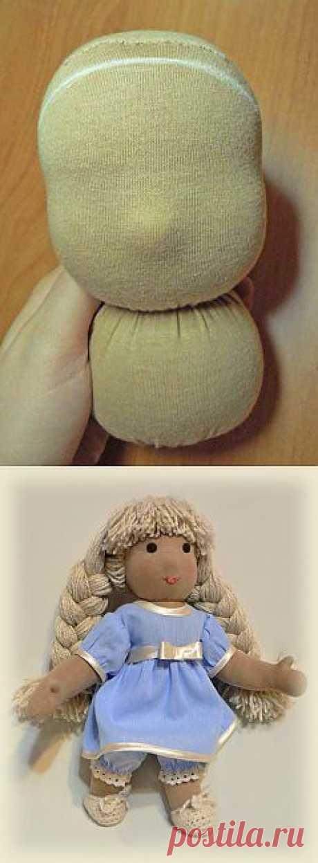 Подробный МК по вальдорфской кукле. Часть2 /ШКОЛА ИГРУШКИ