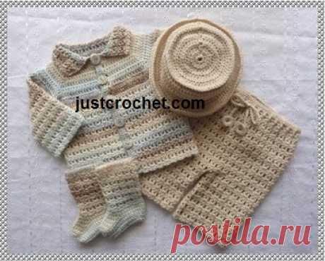6-12 Month Baby crochet pattern JC106C