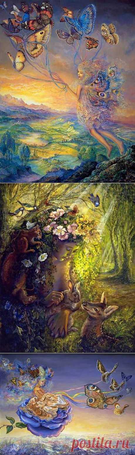 Волшебная сказка Josephine Wall - Галерея искусств - Для души - Статьи - Школа радости