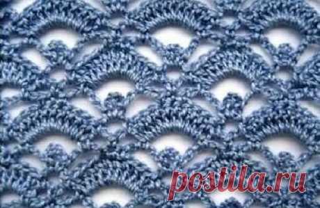 Топ-10 красивых узоров крючком со схемами для изысканного вязания! | Вязалки Веселого Хомяка | Яндекс Дзен