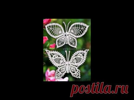 Бабочки крючком. из категории Интересные идеи – Вязаные идеи, идеи для вязания