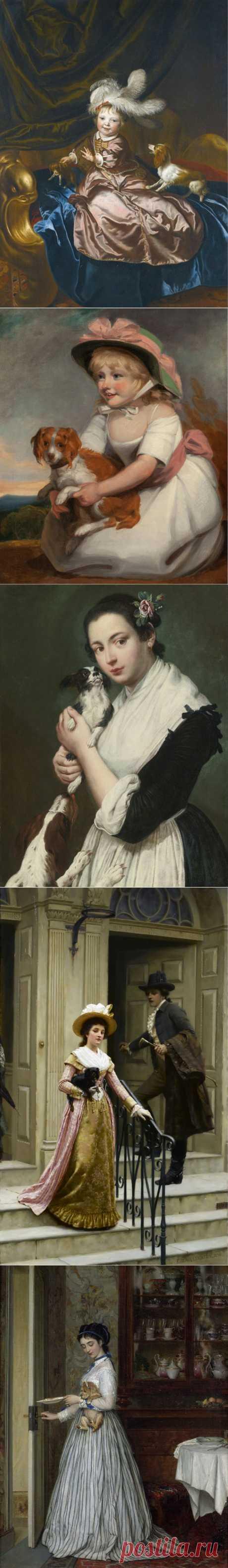 Вернисаж живописи 17-19 веков - из цикла *Наши любимцы*.