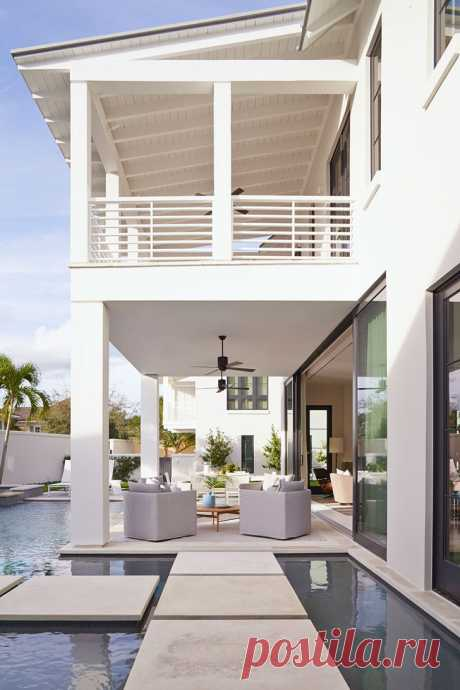 Уютный дом в современном стиле во Флориде | Роскошь и уют
