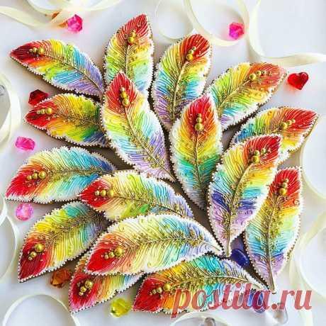 Сладкая жизнь: пряничные шедевры Натальи Гладышевой, которые слишком красивы, чтобы просто их съесть | Журнал Ярмарки Мастеров