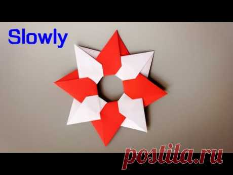 ABC TV | How To Make Star For Christmas Tree From Paper (Slowly) - Origami Craft Tutorial