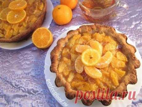 Мандариновый пирог - способ приготовления, ингредиенты Мандариновый пирог - это теплый, согревающий, ароматный пирог, который согреет вас вместе с чаем в холодные, зимние вечера.