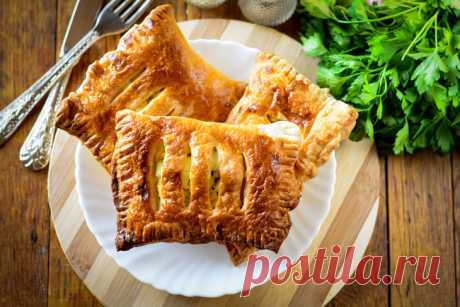 Слойки с яйцом — Sloosh – кулинарные рецепты