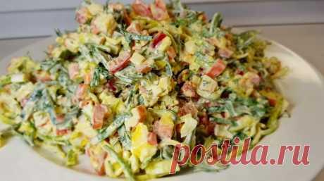 Вкусный праздничный салат «Быстринка»: говорящее название Закусочный салат «Быстринка» прекрасно подойдет к мясным блюдам, да и сам по себе очень хорош: вкусный, сытный, легкий и свежий! Два других рецепта ему ни в чем не уступают: поэтому выбирайте тот, который больше по вкусу.