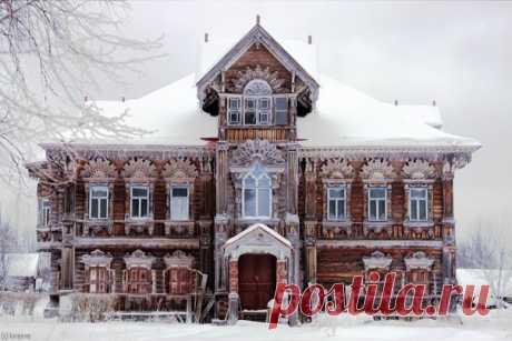 Чухломские терема Костромской области