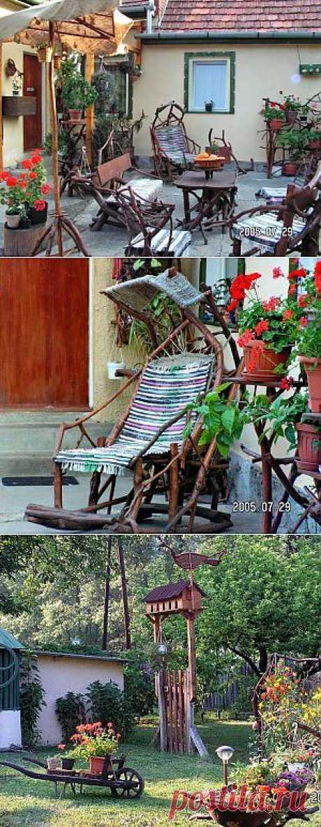 Мебель хенд мейд для дома сада и дачи своими руками