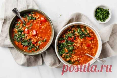 Суп с чечевицей и болгарским перцем - The-Challenger.ru Только у нас — полезные рецепты питательных завтраков, вкусных обедов и легких ужинов! Для тех, кто готов потратить время на что-то особенное, и для тех, у кого на готовку есть всего 10 минут.