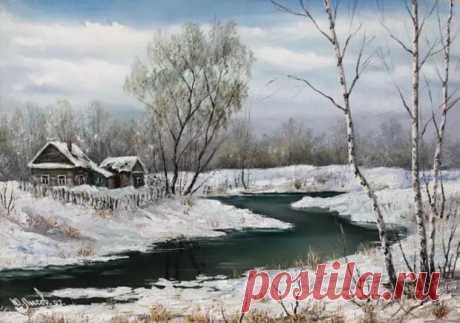 Нежная и хрупкая природа. Юрий Лысов - Искусство - медиаплатформа МирТесен