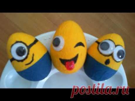 DIY/МК/Декоративные Пасхальные яйца для детей