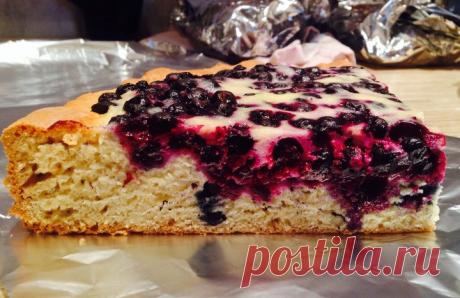 Пироги с черникой — 7 простых рецептов черничной выпечки