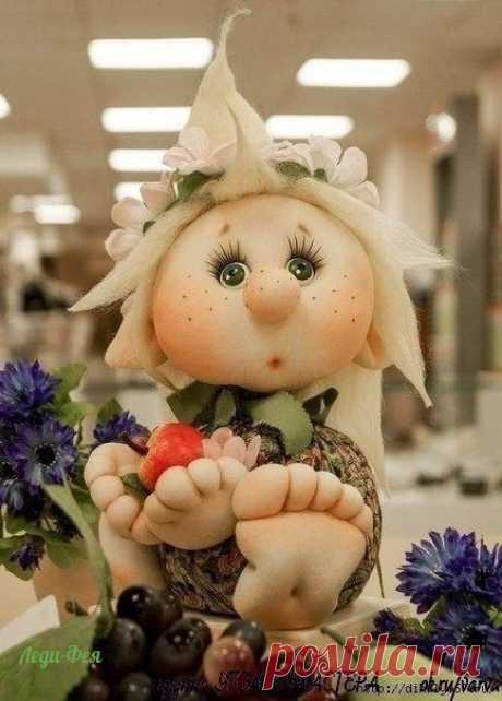 Куклы из капрона разных авторов