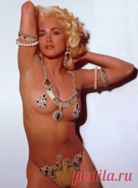 СМИ обнародовали откровенные фотографии 20-летней Мадонны